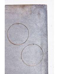 Urban Outfitters - Metallic The Modern Hoop Earring - Lyst