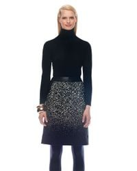 Lafayette 148 New York | Black Solid Turtleneck Top | Lyst