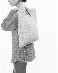Wool And The Gang   Pink Zigazig Shopper   Lyst