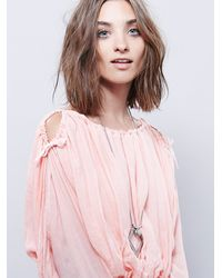 Free People | Pink Marrakesh Dress | Lyst