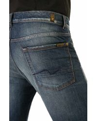 7 For All Mankind | Blue Slimmy American Lake for Men | Lyst