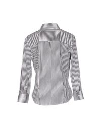 Band of Outsiders - White Shirt - Lyst