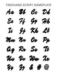 BaubleBar | Metallic Freehand Script Nameplate | Lyst