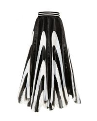 Alice + Olivia - Black Nicole Mid Length Skirt - Lyst