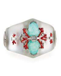 Alexis Bittar - Metallic Mirrored Bedarra Hinge Bracelet - Lyst