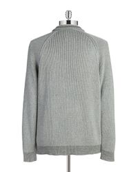 Tommy Bahama - Gray Knit Cotton Sweater for Men - Lyst