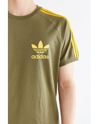 Adidas Originals - Green Originals Sport Essential Tee for Men - Lyst