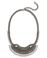 DANNIJO - Metallic Lili Necklace - Lyst