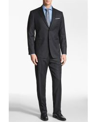 John W. Nordstrom | Gray 'travel' Classic Fit Wool Suit for Men | Lyst