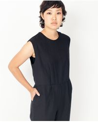 First Rite - Pantsuit / Black - Lyst