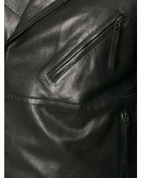 Acne Studios | Black 'Oscar' Biker Jacket for Men | Lyst
