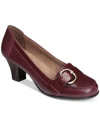 Aerosoles | Purple Arivederci Pumps | Lyst