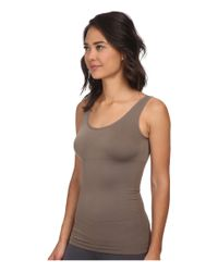 Yummie By Heather Thomson - Gray Lena Tank Top - Lyst