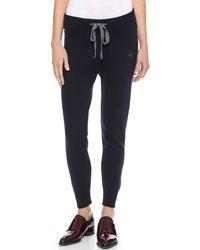 Chinti & Parker - Blue Cashmere Sweatpants - Navy - Lyst