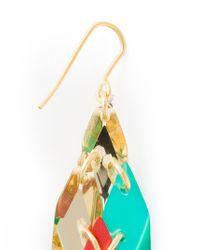 Silvia Rossi - Green 'Wisteria' Earrings - Lyst