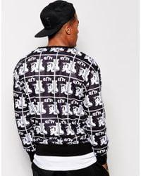 BOY London   Black Mens Repeat Logo Sweat for Men   Lyst