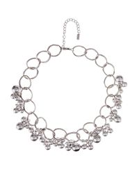 Hobbs | Metallic Rachel Pearl Necklace | Lyst