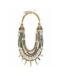 Lizzie Fortunato | Blue Turquoise Riad Necklace | Lyst