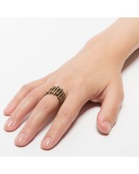 Pamela Love | Metallic Twig Ring | Lyst