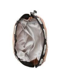 LeSportsac | Multicolor Peanuts X Medium Dome Cosmetic Case - Heart Hugs | Lyst