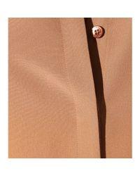 Etro - Brown Silk Blouse - Lyst