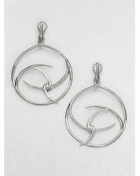 Stephen Webster - Metallic Barb Hoop Drop Earrings - Lyst