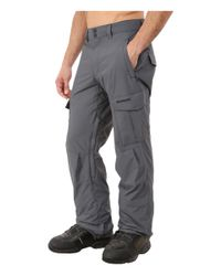 Quiksilver | Gray Mission Shell Snow Pants for Men | Lyst