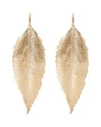 Aurelie Bidermann - Metallic Central Park Drop Earrings - Lyst