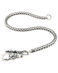Trollbeads | Metallic Sterling Silver Lace Invitation Bracelet | Lyst