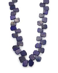Nest | Blue Lapis Cluster Long Necklace | Lyst
