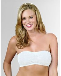 Fashion Forms | White Strapless Bandeau Bra | Lyst