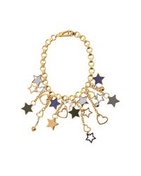 Marc By Marc Jacobs - Multicolor Cluster Star Bib Bracelet - Lyst