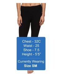 Beyond Yoga - Black Quilted Capri Legging - Lyst