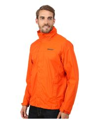 Marmot - Orange Precip® Jacket for Men - Lyst