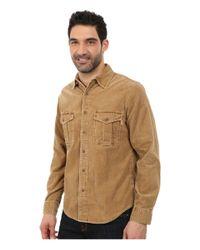 Woolrich | Natural Hemlock Cord Shirt Modern for Men | Lyst