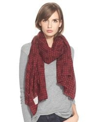 Rag & Bone | Red 'Beatrice' Scarf | Lyst