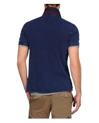 Napapijri | Blue Polo for Men | Lyst