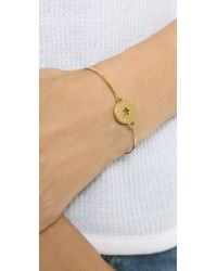 Marc By Marc Jacobs - Metallic Star Coin Hinge Cuff Bracelet - Lyst