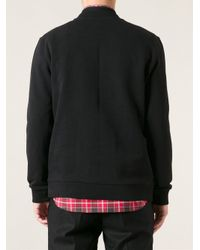 Givenchy - Black Geometric Print Sweater for Men - Lyst