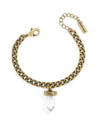 BaubleBar | Metallic Mini Quartz Bracelet | Lyst