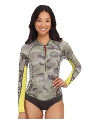 Billabong | Green Salty Daze Spring Long Sleeve Wetsuit | Lyst