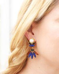 Lizzie Fortunato | Blue Casa Azul Earrings | Lyst