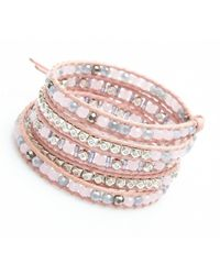 Nakamol | Multicolor Crucible Wrap Bracelet-pink | Lyst