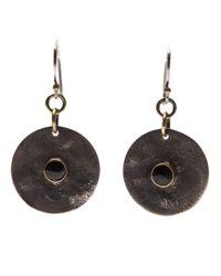 Beth Orduna | Metallic Coin Earring | Lyst