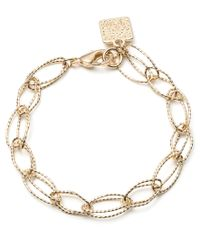 Anne Klein | Metallic Ring Leader Gold Bracelet | Lyst
