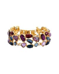 Lauren by Ralph Lauren | Multicolor Cluster Bracelet | Lyst