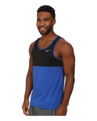 Nike - Black Racer Singlet for Men - Lyst