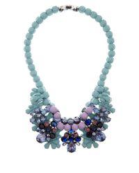 EK Thongprasert - Blue Turquoise Aeonium Silicone Necklace - Lyst