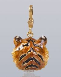 Jay Strongwater - Multicolor Ian Tiger Charm - Lyst