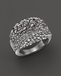 Roberto Coin | Metallic Sterling Silver Stingray Concave Ring | Lyst